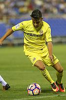 Villarreal's Mario Rukavina during the XXXVII trophy of Legane's City between CD Leganes and Villarreal CF at Butarque Stadium. August 13, 2016. (ALTERPHOTOS/Rodrigo Jimenez) /NORTEPHOTO