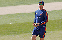 Simon Harmer of Essex warms up prior to Essex CCC vs Kent CCC, Bob Willis Trophy Cricket at The Cloudfm County Ground on 2nd August 2020