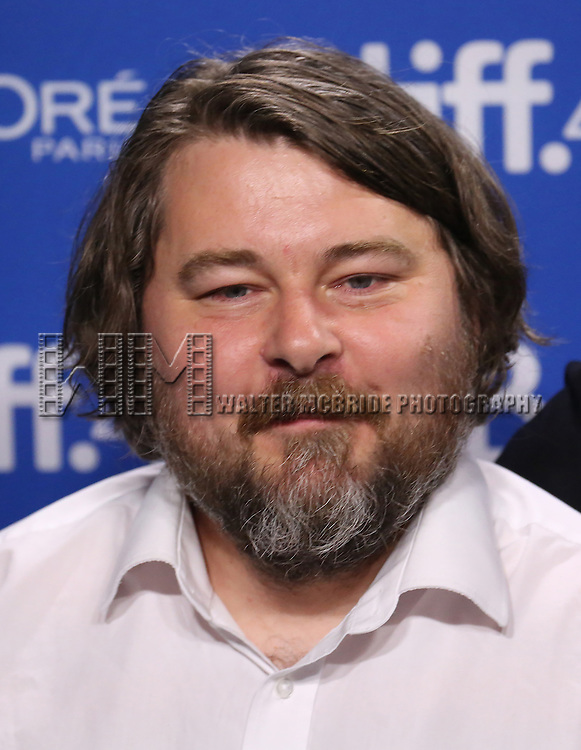 Ben Wheatley attends the 'High-Rise' photo call during the 2015 Toronto International Film Festival at Roy Thomson Hall on September 14, 2015 in Toronto, Canada.