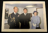 BNPS.co.uk (01202 558833)<br /> Pic: MooreAllen&amp;Innocent/BNPS<br /> <br /> The Queen and Prince Philip's 1982 card.<br /> <br /> A comprehensive collection of Christmas cards sent by the Queen and Prince Philip over a 30 year period have emerged to highlight the fascinating changes of the Royal Family.<br /> <br /> The 31 greetings cards carry various images of the Royal couple on the front along with different members of their family.<br /> <br /> They were sent every year without fail from 1971 through to 2001 to the unnamed recipient, who was clearly an acquaintance of the Queen.<br /> <br /> The first card features a formal photograph of the Queen, the Duke of Edinburgh, a 23-year-old Prince Charles, Princess Anne, Prince Andrew, aged 11 and seven-year-old Prince Edward.<br /> <br /> They are being sold in Cirencester on Friday.
