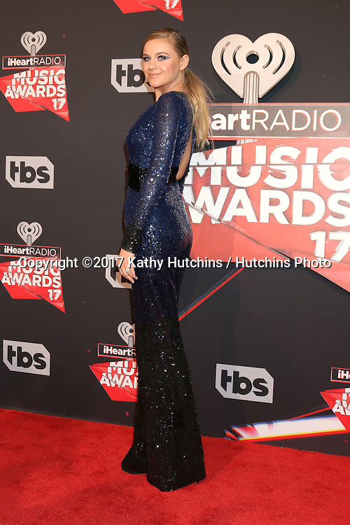 LOS ANGELES - MAR 5:  Kelsea Ballerini at the 2017 iHeart Music Awards at Forum on March 5, 2017 in Los Angeles, CA