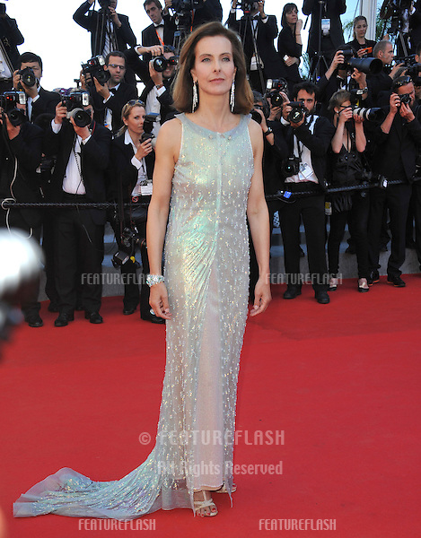 Carole Bouquet at the gala awards ceremony at the 67th Festival de Cannes.<br /> May 24, 2014  Cannes, France<br /> Picture: Paul Smith / Featureflash