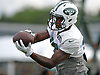 Marquess Wilson #10 makes a catch during New York Jets Training Camp at the Atlantic Health Jets Training Center in Florham Park, NJ on Tuesday, Aug. 8, 2017.