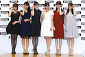 idol group Nogizaka46, Oct 6, 2015 : Winners of The 28th Japan Best Dressed Eyes Awards were announced at Tokyo Big Site on October 6, 2015. Celebrities, politicians and businessmen with outstanding eyewear fashion sense were presented with the award. (Photo by Sho Tamura/AFLO)