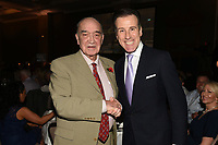 Eddie Richardson (L) and Anton Du Beke during a Charity Dinner Boxing Show at the Hilton Hotel on 13th November 2017