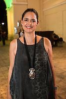 """Mariana de Tovar y de Teresa durante la exposicion de Marcela Lobo """"Cuerpos Vibrantes"""" en el museo MACAY de Merida Yucatan el 19 de Julio del 2013.<br /> Foto: Mauricio Palos /NortePhoto"""