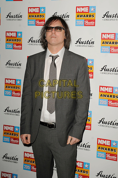 LONDON, ENGLAND - FEBRUARY 18: Anton Newcombe attending the NME Awards at Brixton Academy on February 18 2015 in London, England.<br /> CAP/MAR<br /> &copy; Martin Harris/Capital Pictures