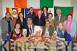 Sean Counihan Mayor of Killarney launching the KASI Recipes from Home cookbook in the KASI center Killarney on Thursday night front row l-r: Joni Kelly, Sean Counihan, Sheila Casey KASI Chairperson, Georgina Buffini. Back row: Huda Albayati, Fatima Alkhateeb, Mohammed Saleb, Marilyn Catapat-Counihan, Eileen McCarthy, Roz Norman, Sr Colm, Sean O'Grady and Sr Joan..