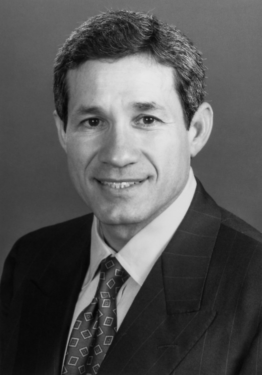 Close-up of Rep. Frank Tejeda, D-Tex., in 1994. (Photo by CQ Roll Call)