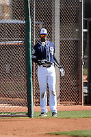 Alexei Ramirez - San Diego Padres 2016 spring training (Bill Mitchell)