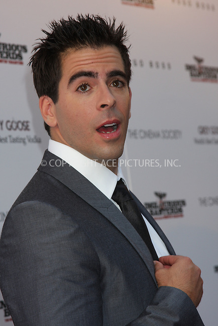 WWW.ACEPIXS.COM . . . . .  ....August 17 2009, New York City....Eli Roth arriving at The Cinema Society & Hugo Boss screening of 'Inglourious Basterds' at the SVA Theater on August 17, 2009 in New York City.....Please byline: AJ SOKALNER - ACE PICTURES.... *** ***..Ace Pictures, Inc:  ..tel: (212) 243 8787 or (646) 769 0430..e-mail: info@acepixs.com..web: http://www.acepixs.com