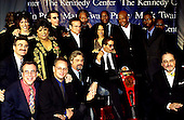 1998 Mark Twain Comedy Prize honoree Richard Pryor poses with Richard Pryor poses poses with the talent and Comedy Central executives at the John F. Kennedy Center for the Performing Arts on October 20, 1998.  The recognizable performers in the back row include Richard Belzer, Robin Williams, Morgan Freeman, Danny Glover, Damon Wayans, and Chris Rock.  Pryor's daughters Rain and Elizabeth are also in the photo..Credit: James Kelly / Pool via CNP
