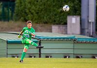 20200821 - Woluwe: Woluwe's goal keeper does the goal kick during a friendly match between Femina WS Woluwe vs K Wuustwezel FC on 21th of August 2020, in Stade Fallon, Woluwe. PHOTO: Sportpix.be | SEVIL OKTEM