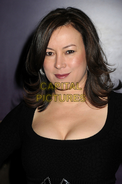 "JENNIFER TILLY.""The Making of Plus One"" Special Screening held at The Laemmle Monica 4-Plex, Santa Monica, California, USA, 2nd February 2011..portrait headshot black cleavage make-up lipstick .CAP/ADM/BP.©Byron Purvis/AdMedia/Capital Pictures."