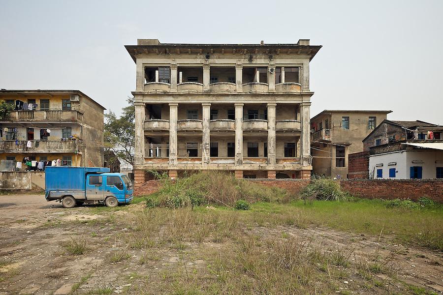 Sanshui (Samshui) Custom House (Residential Complex Is Behind The Main Building).  Built In 1899.