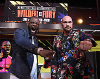 1/25/20 - Los Angeles: Deontay Wilder vs Tyson Fury II Press Conference