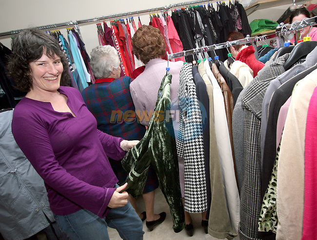 Eimear O'Kane at the Opening of the new Cancer Shop in the Abbey Shopping Centre...Photo NEWSFILE/Jenny Matthews.(Photo credit should read Jenny Matthews/NEWSFILE)....This Picture has been sent you under the condtions enclosed by:.Newsfile Ltd..The Studio,.Millmount Abbey,.Drogheda,.Co Meath..Ireland..Tel: +353(0)41-9871240.Fax: +353(0)41-9871260.GSM: +353(0)86-2500958.email: pictures@newsfile.ie.www.newsfile.ie.FTP: 193.120.102.198.