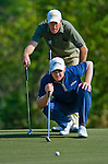 Richard Green and Brendan Jones  of Australia in action during the 54th Omega Mission Hills World Cup of Golf on November 29, 2008 in Shenzhen, China. Photo by Victor Fraile