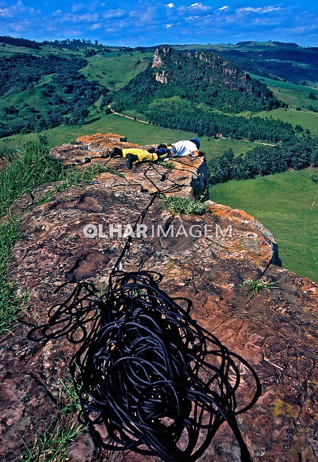 Pico do Cuzcuzeiro em Analândia. São Paulo. 2002. Foto de Juca Martins.