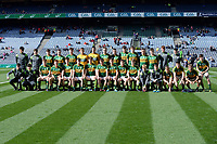 17-1-2017: The Kerry team captained by David Clifford who won the 2017 All-Ireland Minor Championship at Croke Park on Sunday.<br /> Photo: Don MacMonagle