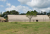 Pará State, Brazil. Aldeia Koatinemo (Asurini). The House of the Dead.