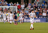 FRISCO, TX - MARCH 11: Shiori Miyake #3 of Japan celebrates a goal during a game between Japan and USWNT at Toyota Stadium on March 11, 2020 in Frisco, Texas.