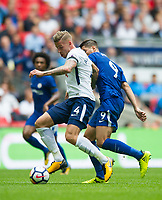 Tottenham's Toby Alderweireld during the Premier League match between Tottenham Hotspur and Chelsea at Wembley Stadium, London, England on 20 August 2017. Photo by Andrew Aleksiejczuk / PRiME Media Images.