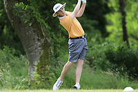 Annraoi Collins (L&B) during the final round of the Connacht Boys Amateur Championship, Oughterard Golf Club, Oughterard, Co. Galway, Ireland. 05/07/2019<br /> Picture: Golffile | Fran Caffrey<br /> <br /> <br /> All photo usage must carry mandatory copyright credit (© Golffile | Fran Caffrey)