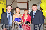 3870-3875.Paul, Joyce Trant Killarney, and Ann, Liam Brown Beaufort at the Liebheer 50th anniversary dance in the Europe hotel Fossa on Saturday night