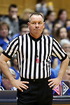 21 February 2016: Referee Bryan Brunette. The Duke University Blue Devils hosted the Georgia Tech Yellow Jackets at Cameron Indoor Stadium in Durham, North Carolina in a 2015-16 NCAA Division I Women's Basketball game. Georgia Tech won the game 64-59.