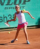 05-08-13, Netherlands, Dordrecht,  TV Desh, Tennis, NJK, National Junior Tennis Championships, Kim Hansen<br /> <br /> <br /> Photo: Henk Koster