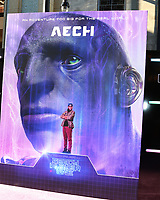 """LOS ANGELES - MAR 26:  Ready Player One Poster - Aech at the """"Ready Player One"""" Premiere at TCL Chinese Theater IMAX on March 26, 2018 in Los Angeles, CA"""