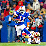 30 November 2008: Buffalo Bills' wide receiver Roscoe Parrish in action against the San Francisco 49ers at Ralph Wilson Stadium in Orchard Park, NY. The 49ers defeated the Bills 10-3. ***** Editorial Use Only ******..Mandatory Photo Credit: Ed Wolfstein Photo