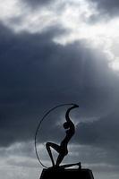 Fortaleza_CE, Brasil...Na foto, escultura de Iemanja, na praia de Mucuripe em Fortaleza, Ceara...In the photo, Iemanja sculpture, in the Mucuripe beach in Fortaleza, Ceara...Foto: BRUNO MAGALHAES / NITRO