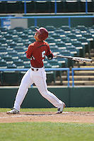 Temple University Owls infielder Reyn Sugai (5) during a game against the University of Louisville Cardinals at Campbell's Field on May 10, 2014 in Camden, New Jersey. Temple defeated Louisville 4-2.  (Tomasso DeRosa/ Four Seam Images)