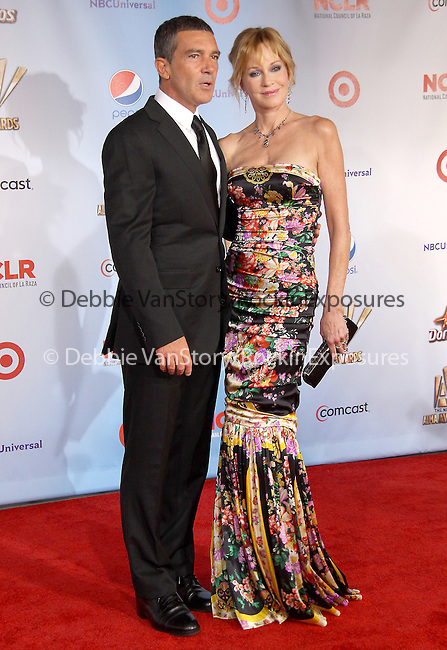 Melanie Griffith and Antonio Banderas at The 2011 NCLR ALMA Awards® held at the Santa Monica Civic Auditorium in Santa Monica, California on September 10,2011                                                                               © 2011 Hollywood Press Agency