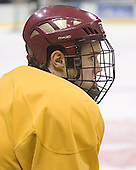 Dan Bertram - The Boston College Eagles practiced on Wednesday, April 5, 2006, at the Bradley Center in Milwaukee, Wisconsin, in preparation for their 2006 Frozen Four Semi-Final game against the University of North Dakota.