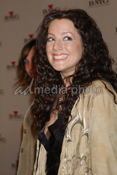 Feb. 8, 2004; Hollywood, CA, USA; Singer SARAH MCLACHLAN during the BMG 46th Annual Grammy Awards Post-Grammy Gala Celebration held at The Avalon. Mandatory Credit: Photo by Laura Farr/AdMedia. (©) Copyright 2003 by Laura Farr