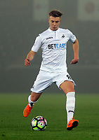 Pictured: Adam King of Swansea City Monday 13 March 2017<br /> Re: Premier League 2, Swansea City U23 v Wolverhampton Wanderers FC at the Liberty Stadium, Swansea, UK