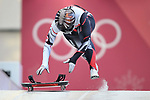 Jane Channel (CAN)]. Womens Skeleton training. Pyeongchang2018 winter Olympics. Olympic sliding centre. Alpensia. Pyeongchang. Republic of Korea. 07/02/2018. ~ MANDATORY CREDIT Garry Bowden/SIPPA - NO UNAUTHORISED USE - +44 7837 394578
