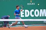 Rafael Nadal (ESP) defeats Teymoraz Gabashvili (RUS) at the Monte Carlo Rolex Masters tournament in Monte Carlo, Monaco on April 17, 2014.