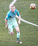 FC Barcelona's Jeremy Mathieu during La Liga match. February 26,2017. (ALTERPHOTOS/Acero)
