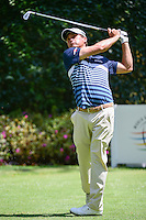 Kevin Kisner (USA) watches his tee shot on 3 during round 1 of the World Golf Championships, Mexico, Club De Golf Chapultepec, Mexico City, Mexico. 3/2/2017.<br /> Picture: Golffile | Ken Murray<br /> <br /> <br /> All photo usage must carry mandatory copyright credit (&copy; Golffile | Ken Murray)