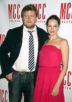 June 14 , 2012 Michael Chernus and Tammy Blanchard attend the MCC Theater's benefit reading of The Heart Of The Matter afterparty  at the Ramscale in New York City. © RW/MediaPunch Inc. NORTEPHOTO.COM<br />