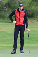 Sebastien Heisele (GER) on the 12th green during the Pro-Am of the Challenge Tour Grand Final 2019 at Club de Golf Alcanada, Port d'Alcúdia, Mallorca, Spain on Wednesday 6th November 2019.<br /> Picture:  Thos Caffrey / Golffile<br /> <br /> All photo usage must carry mandatory copyright credit (© Golffile | Thos Caffrey)