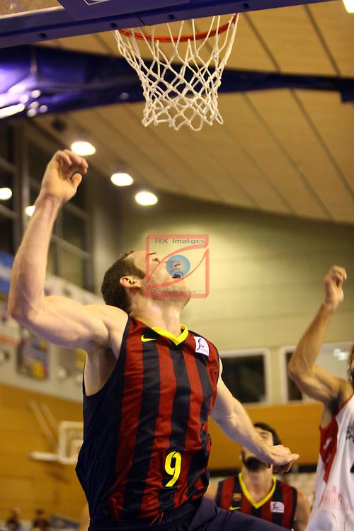 Regal XXXV Llia Nacional Catalana ACB 2014-Semifinals.<br /> FC Barcelona vs La Bruixa d'Or Manresa: 82-66.<br /> Marcelinho Huertas.