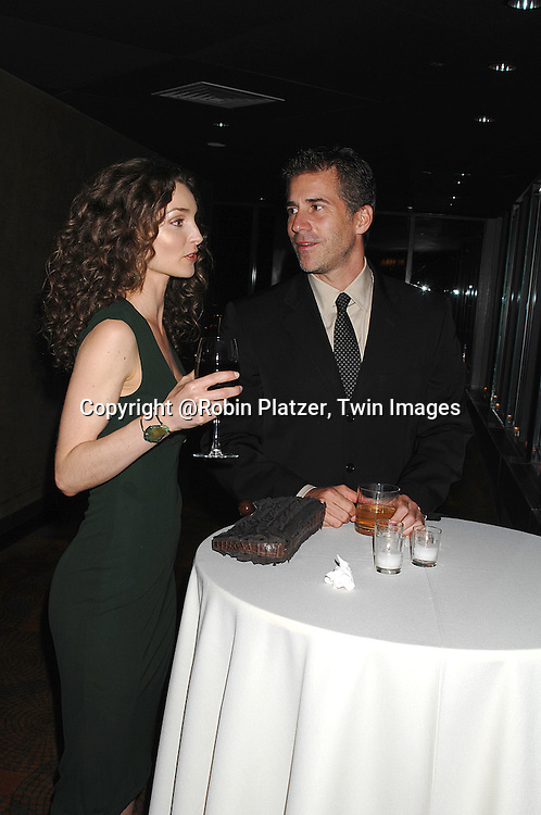 Alicia Minshew and boyfriend Richie Herschenfeld..at The Surprise 70th Birthday Party for Susan Lucci's husband Helmet Huber on October 10, 2007 at The Rainbow Room ....Photo by Robin Platzer, Twin images....212-935-0770