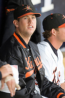 Matusz, Brian 1345.jpg. Carolina League Myrtle Beach Pelicans at the Frederick Keys at Harry Grove Stadium on May 13th 2009 in Frederick, Maryland. Photo by Andrew Woolley.