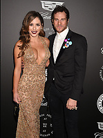 SANTA MONICA, CA - JANUARY 06: Model/Actress Brittney Palmer (L) and Gregory Siff arrive at the The Art Of Elysium's 11th Annual Celebration - Heaven at Barker Hangar on January 6, 2018 in Santa Monica, California.<br /> CAP/ROT/TM<br /> &copy;TM/ROT/Capital Pictures