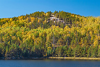 Autumn colors at Tower Lake<br />Near Kenora<br />Ontario<br />Canada